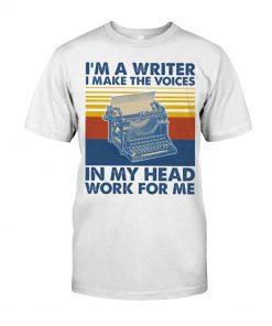 I'm a wI'm a writer and I work in my head work for me shirtriter and I work in my head work for me long sleeved