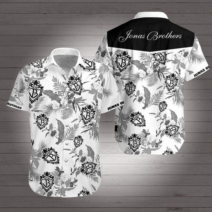Discount Jonas Brothers hawaiian shirt