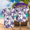 LSU Tigers football hawaiian shirt