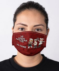 Lunch Lady Have no fear the lunch lady is here face mask 1