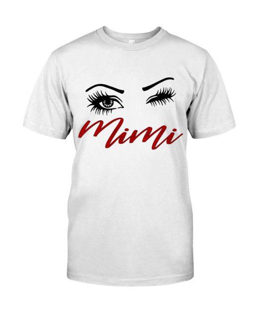 Mini eyes art T-shirt