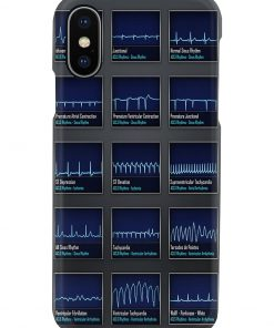 Paramedic ACLS ECG Rhythm phone casex