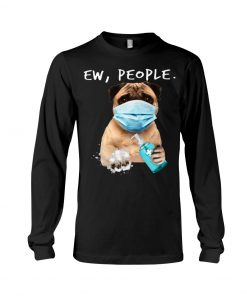 Pug Ew People Coronavirus Long sleeve