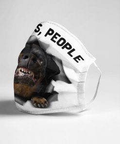 Rottweiler 2 Metres People face mask4