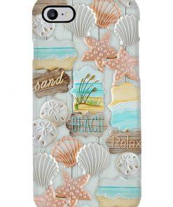 Sand Beach Relax Pattern phone case 7