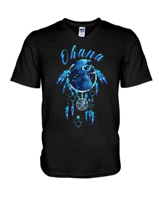 Stitch Ohana Native Americans shirt, tank top, hoodie