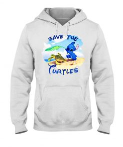 Stitch Save the turtles Hoodie