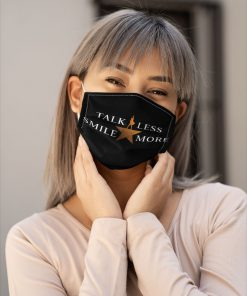 Talk Less Smile More - Aaron Burr Sir face mask 1