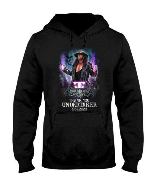 Thank You Undertaker 1984-2020 hoodie