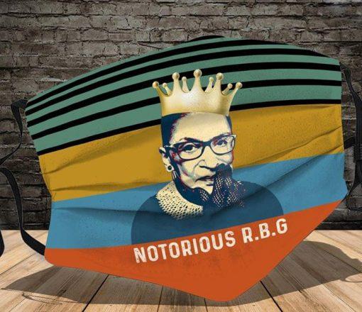 The Notorious RBG Ruth Bader Ginsburg face mask