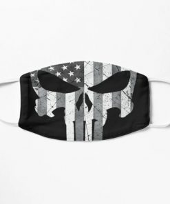 The Punisher American Flag face mask 0