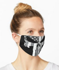 The Punisher American Flag face mask 1