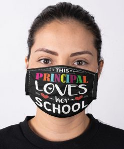 This principal loves her school face mask2