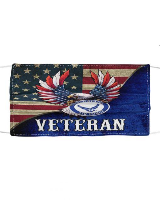United States Air Force Flag Eagle face mask
