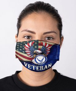 United States Air Force Flag Eagle face mask1