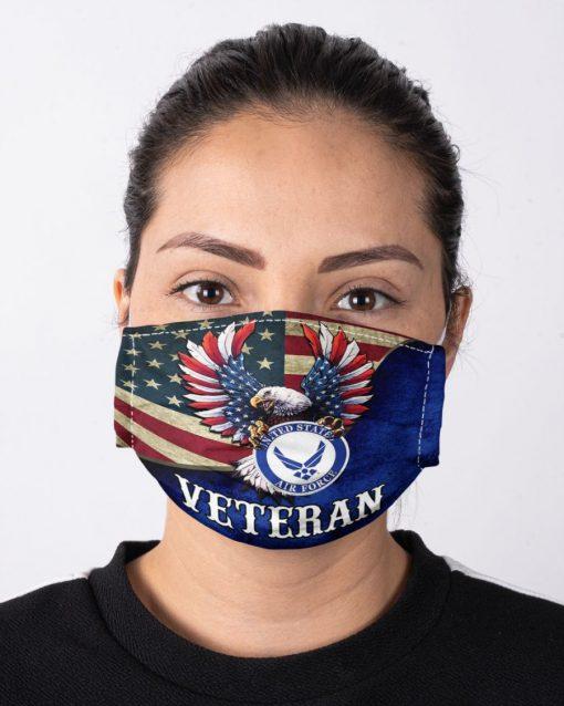 United States Air Force Flag Eagle face mask1