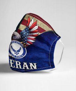 United States Air Force Flag Eagle face mask3