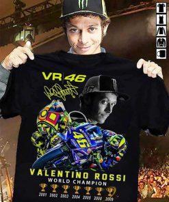 Valentino Rossi VR46 World Champion shirt 0