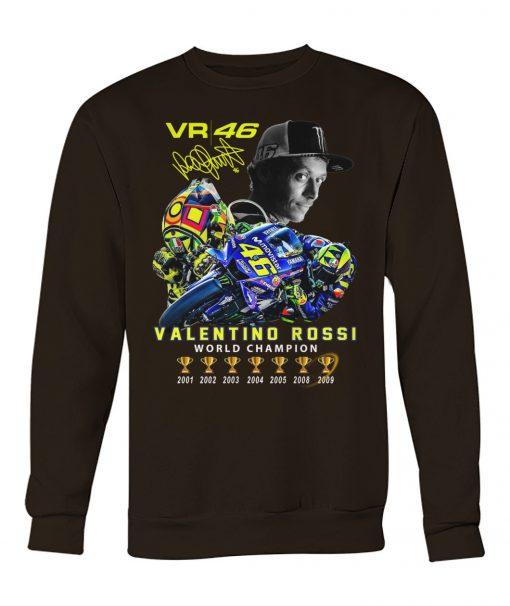 Valentino Rossi VR46 World Champion sweatshirt