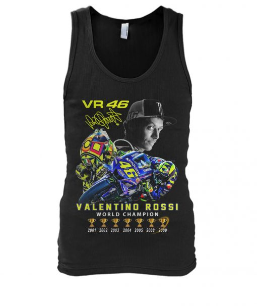 Valentino Rossi VR46 World Champion tank top