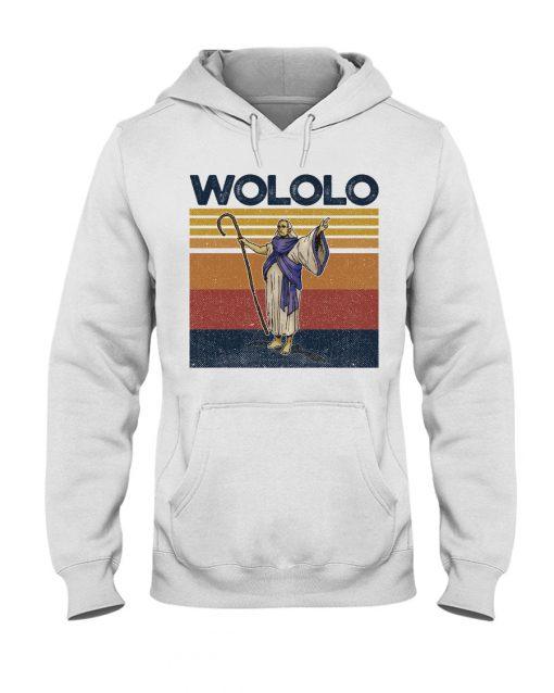 Wololo vintage hoodie