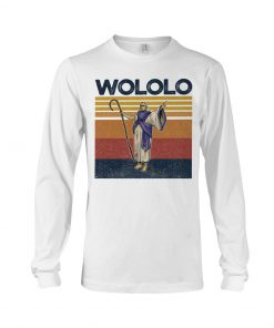 Wololo vintage long sleeved