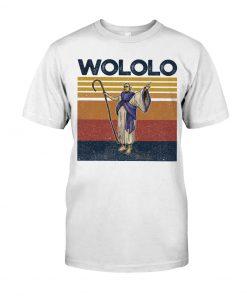Wololo vintage shirt