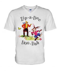 Zip-a-Dee-Doo-Dah racist v-neck