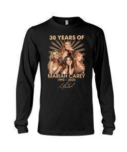 30 Years of Mariah Carey 1990-2020 Long sleeve