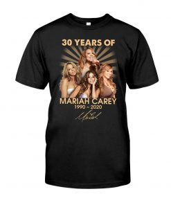30 Years of Mariah Carey 1990-2020 T-shirt