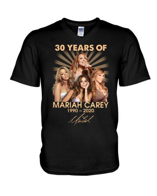 30 Years of Mariah Carey 1990-2020 V-neck