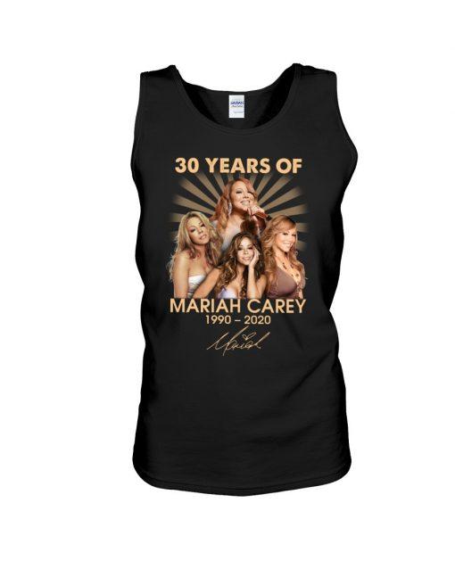 30 Years of Mariah Carey 1990-2020 tank top