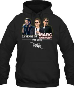 32 Years of Marc Anthony 1988-2020 Hoodie