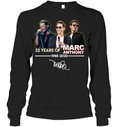 32 Years of Marc Anthony 1988-2020 Lonng sleeve