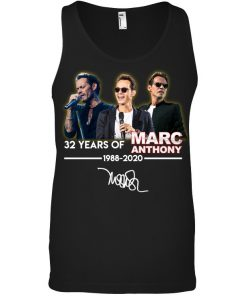 32 Years of Marc Anthony 1988-2020 tank top