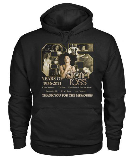 65 years of 1956-2021 Diana Ross hoodie