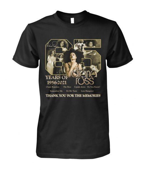 65 years of 1956-2021 Diana Ross shirt