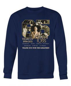 65 years of 1956-2021 Diana Ross sweatshirt