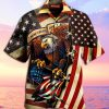 American Eagle These colors don't run 3D Hawaiian shirt