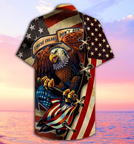 American Eagle These colors don't run 3D Hawaiian shirt1