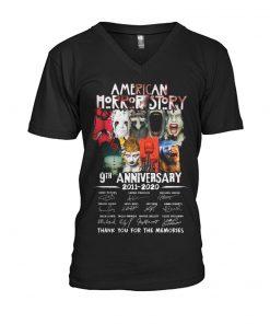 American Horror Story 9th Anniversary 2011-2020 v-neck