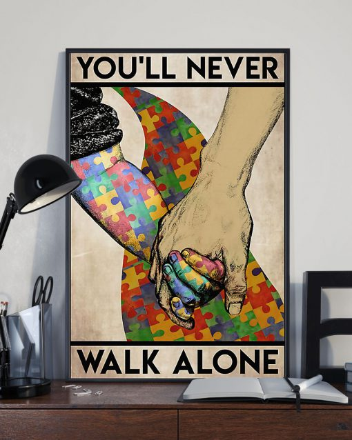 Autism You'll Never Walk Alone poster 2