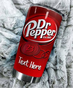 Baby Yoda I don't care What day It is It's early I'm grumpy I want Dr Pepper personalized tumbler 2