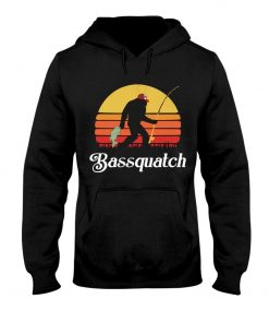 Bassquatch - Bigfoot Fishing Hoodie