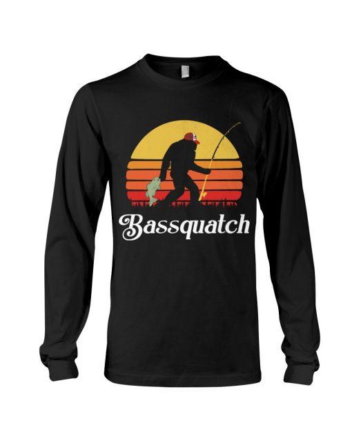 Bassquatch - Bigfoot Fishing Long sleeve