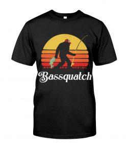 Bassquatch - Bigfoot Fishing T-shirt