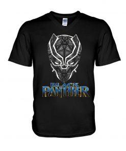 Black Panther Logo V-neck
