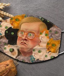 Bubbles and kitties Trailer Park face mask