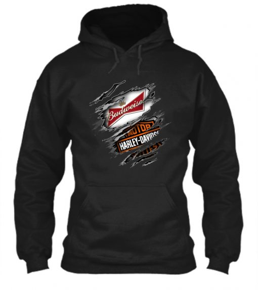 Budweiser Harley Davidson hoodie