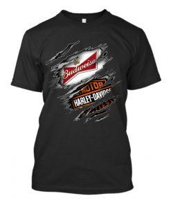 Budweiser Harley Davidson shirt
